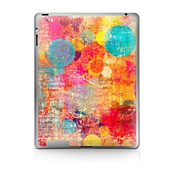 Color Circle  Pattern Protective Sticker for iPad 1/2/3/4  iPad Skin Stickers