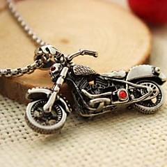 お買い得  ネックレス-Z&X®ファッションハーレーオートバイ鋼のペンダントネックレス