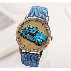 Женская восстанавливая стародедовские пути старый автомобиль Наберите PU Группа Кварцевые аналоговые наручные часы (разных цветов)