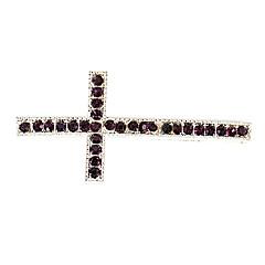 la cruz del rhinestone encantos DIY de los colgantes para pulsera&collar