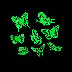 cheap -Romantic House Absorptiometric Night Lights Stickers-Butterfly