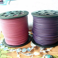 cheap Cord & Wire-Cord & Wire / Chains Leather Purple / Pink 1 pcs 100 cm For