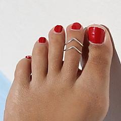 Női Testékszer Lábujjgyűrűk Egyedi Kézzel készített Európai jelmez ékszerek Divat Ötvözet Ékszerek Ékszerek Kompatibilitás Napi