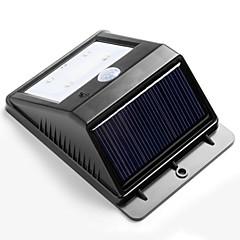 방수 4 밝은 led 무선 태양 전원 공급 모션 센서 벽 램프