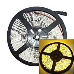 お買い得  LED ストリングライト-黄色の5メートル30ワット300led 3528SMD 635-700nm DC12V IP68防水ストリップライト