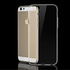 abordables Fundas para iPhone-df PC de nuevo caso de la cubierta transparente para el iPhone 6 Plus