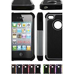 Недорогие Кейсы для iPhone 4s / 4-Кейс для Назначение iPhone 4/4S / Apple Чехол Мягкий Силикон для iPhone 4s / 4