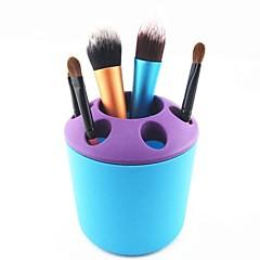 メイク用品収納 化粧品箱 / メイク用品収納 パッチワーク 10x9.5x9.5