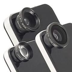 tanie Okazje tygodnia-Uniwersalny teleobiektyw 2x magnetyczna, rybie oko i szerokokątny obiektyw makro dla iPhone i innych