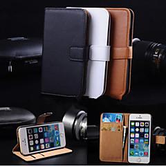 maycari® elegante pu læderetui til iPhone 4 / 4S