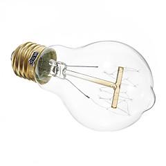 お買い得  LED 電球-1個 40 W 350 lm E26 / E27 A19 LEDビーズ 温白色 220-240 V / RoHs