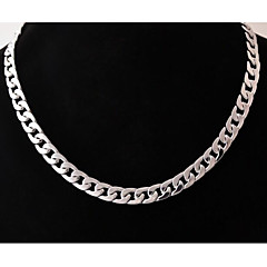 cheap Necklaces-Men's Stainless Steel Chain Necklace - Unique Design Fashion Others Necklace For Wedding Party Gift Daily Casual