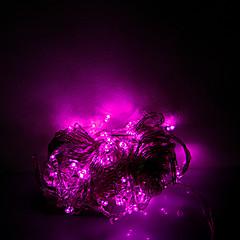 お買い得  LED ストリングライト-brelong 1 pc 10m 100ledハロウィンの装飾的な文字列ピンクの光ac220v