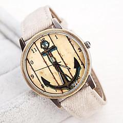 お買い得  レディース腕時計-女性用 リストウォッチ クォーツ ホット販売 バンド ハンズ ヴィンテージ ファッション ブルー / グリーン / アイボリー - ベージュ グリーン ブルー 1年間 電池寿命 / SSUO LR626