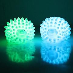 お買い得  LED アイデアライト-LEDナイトライト 防水 バッテリー PVC 1ライト 電池付き 7.0*6.0*5.0cm