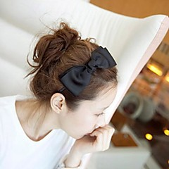couture stof grote strik hoofdbanden