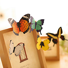mariposa decorar scrapbooking pegatinas de pared (1 PC)