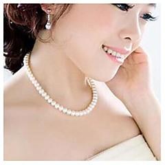 Недорогие Женские украшения-Женское ожерелье, с искусственном жемчугом