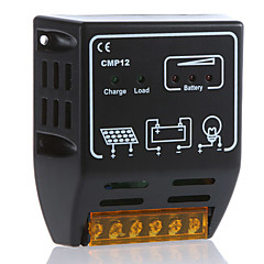 cmp12 10a 12v / 24v controlador de carga solar painel solar regulador de controle de bateria