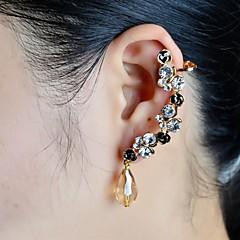 preiswerte Ohrringe-Damen Ohr-Stulpen - Strass, Diamantimitate Luxus Für Hochzeit / Party / Alltag