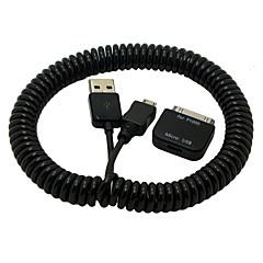 halpa Kaapelit ja adapterit-Micro USB 2.0 USB 2.0 USB-kaapelisovitin Sisäänvedettävissä Kaapeli Käyttötarkoitus TPU Muovi