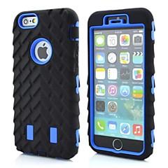 Назначение iPhone X iPhone 8 iPhone 8 Plus iPhone 6 iPhone 6 Plus Чехлы панели Защита от удара Задняя крышка Кейс для броня Мягкий Силикон