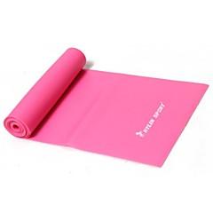 banda de estiramento TPR para faixa da resistência da ioga pilates para o treinamento da aptidão (cores sortidas)