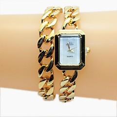 お買い得  レディース腕時計-女性用 クォーツ 合金 バンド ハンズ ゴールド / ローズゴールド - ゴールデン ローズゴールド