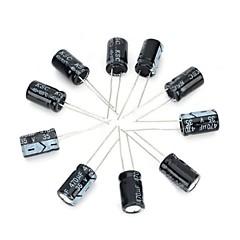 billiga Kondensatorer-diy 35v / 470UF aluminium elektrolytkondensator - svart (10st)