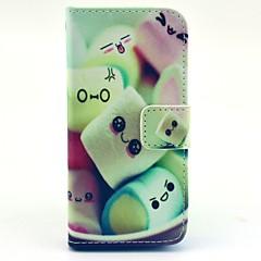 economico Custodie per iPhone-Custodia Per iPhone 5c / Apple Integrale Resistente pelle sintetica per iPhone 5c