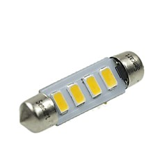 cheap -Festoon Car Warm White 2W SMD 5730 3000-3500 Reading Light