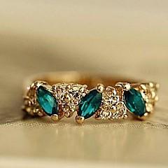 Gyűrűk Divat Parti Ékszerek Ötvözet Női Karikagyűrűk 1db,Egy méret Aranyozott