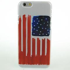 Для Кейс для iPhone 6 / Кейс для iPhone 6 Plus С узором Кейс для Задняя крышка Кейс для Флаг Твердый PCiPhone 6s Plus/6 Plus / iPhone