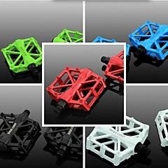 abordables Pedales-accesorios para bicicletas biking® West Riding pies equipo pedales de bicicleta ultraligera pedal de aluminio mosca muerta
