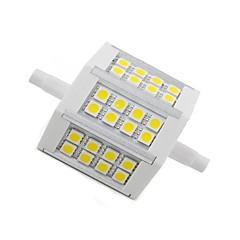 R7S Bombillas LED de Mazorca 24 SMD 5050 300 lm Blanco Cálido 2800-3200 K Decorativa AC 85-265 V