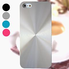 Varten iPhone 5 kotelo Other Etui Takakuori Etui Liukuvärjätty Kova Metalli iPhone SE/5s/5