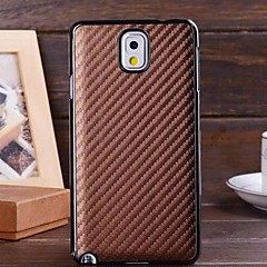 billige Galaxy Note 3 Etuier-For Samsung Galaxy Note Andet Etui Bagcover Etui Helfarve PC for Samsung Note 3