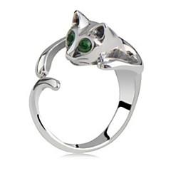 お買い得  指輪-女性用 ステートメントリング  -  ファッション ジュエリー スクリーンカラー 用途 日常