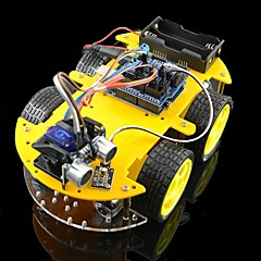 abordables Mandos Solares-kits de coche bluetooth robot controlado por Arduino