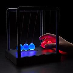 お買い得  ライトアップおもちゃ-デスクトップニュートンのクレードル衝突ボールの創造的な贈り物を輝く