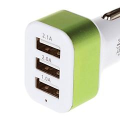 Недорогие Автоэлектроника-зарядка серия 5.1a 3 USB адаптер автомобильное зарядное устройство