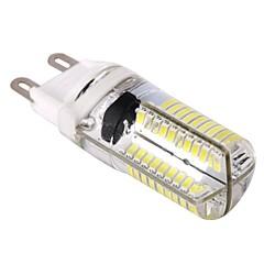 お買い得  LED 電球-1個 9 W 400 lm G9 LEDコーン型電球 T 80 LEDビーズ SMD 3014 調光可能 温白色 / クールホワイト 110-130 V