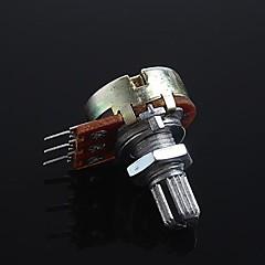 abordables Resistencias-3-pin potenciómetro de control de volumen B10K para guitarra / bajo (2 piezas)
