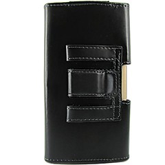 voordelige Hoesjes / covers voor LG-hoesje Voor LG LG hoesje Schokbestendig Buideltas Effen Kleur Hard PU-nahka voor