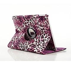 høj kvalitet pu læder leopard print tur hele kroppen tilfældet for iPad luft 2 (assorterede farver)
