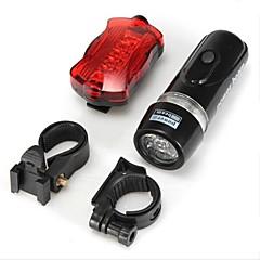 tanie -Światła rowerowe / Przednia lampka rowerowa / Tylna lampka rowerowa LED - Kolarstwo Wodoodporne AAA 100 Lumenów Akumulator
