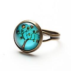 preiswerte Ringe-Damen Statement-Ring - Harz Modisch Verstellbar Blau Für Alltag / Normal