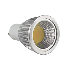 cheap LED Bulbs-5.5W 500-550 lm GU10 LED Spotlight MR16 1 leds COB Dimmable Warm White AC 220-240V