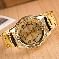Women's Fashion Circular  Alloy  Quartz Watch(Assorted Colors) Cool Watches Unique Watches