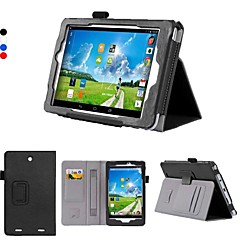 dengpin pu læder 8 tommer stativ tablet tilfælde dække med hånden holder og kort slot til Acer Iconia Tab 8 w w1-810